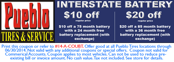 BATTERY COUPON!